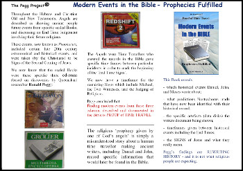 Modern Events in the Bible - Prophecies Fulfilled