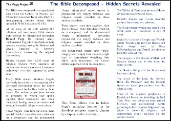 The Bible Decomposed