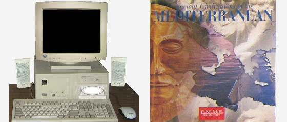 1990s computer system | Ancients cd-rom